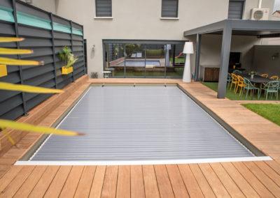 Cerclage de piscine